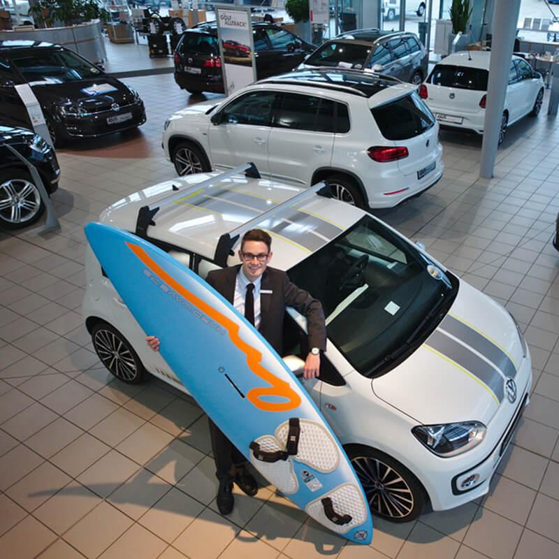Ausstellungsraum Autohaus Kath Gruppe