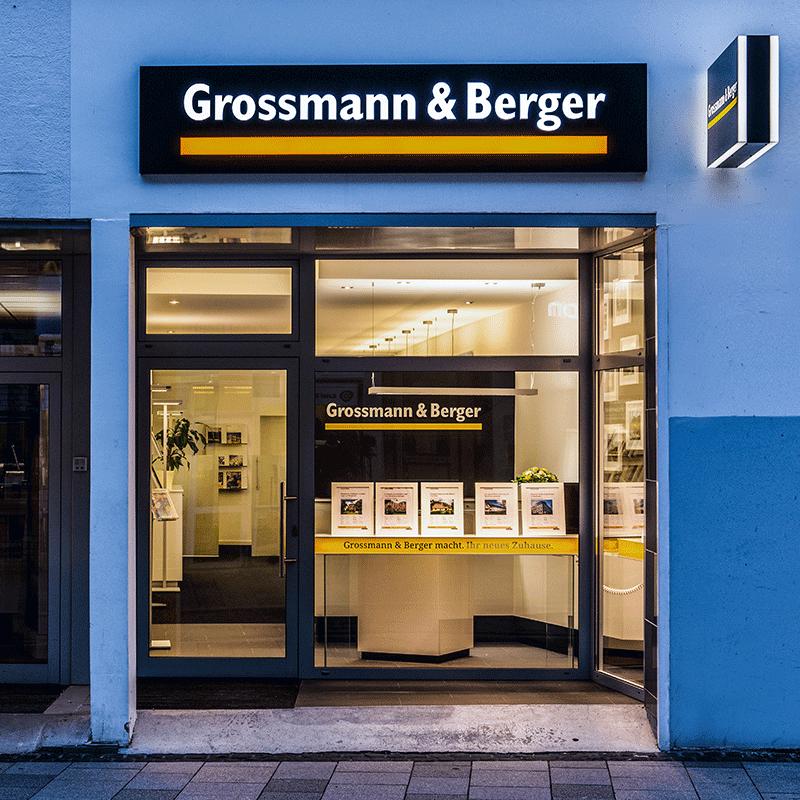 Grossmann und Berger Gebäude von Außen