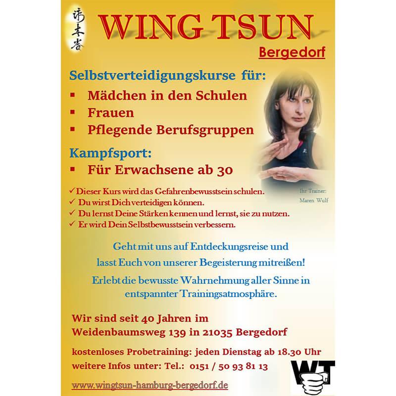 Mein Bergedorf Wing Tsun Galerie Bild 1