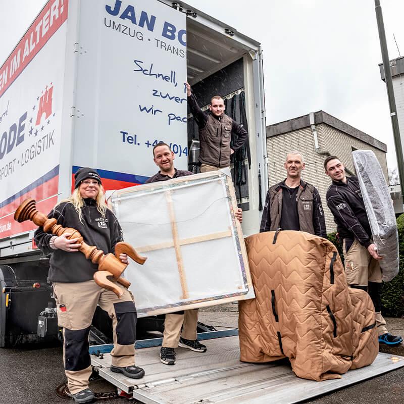 Mein Bergedorf Jan Bode Spedition Team