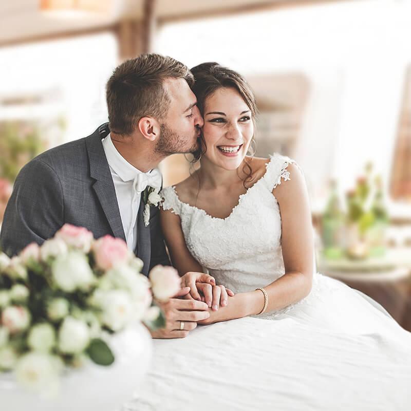 Bergedorfer Schifffahrtslinie Hochzeitspaar